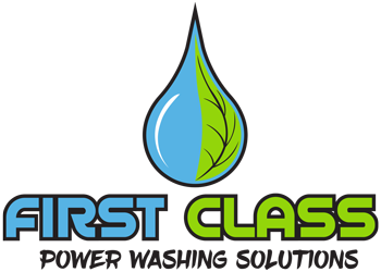 First Class Power Washing Solutions logo